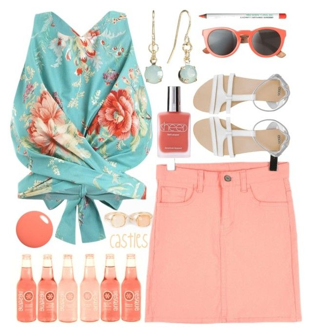 Some birthday, huh? by castles-castle on Polyvore featuring Zimmermann, ASOS, New Look, Lauren Conrad, Toast, Obsessive Compulsive Cosmetics and American Apparel