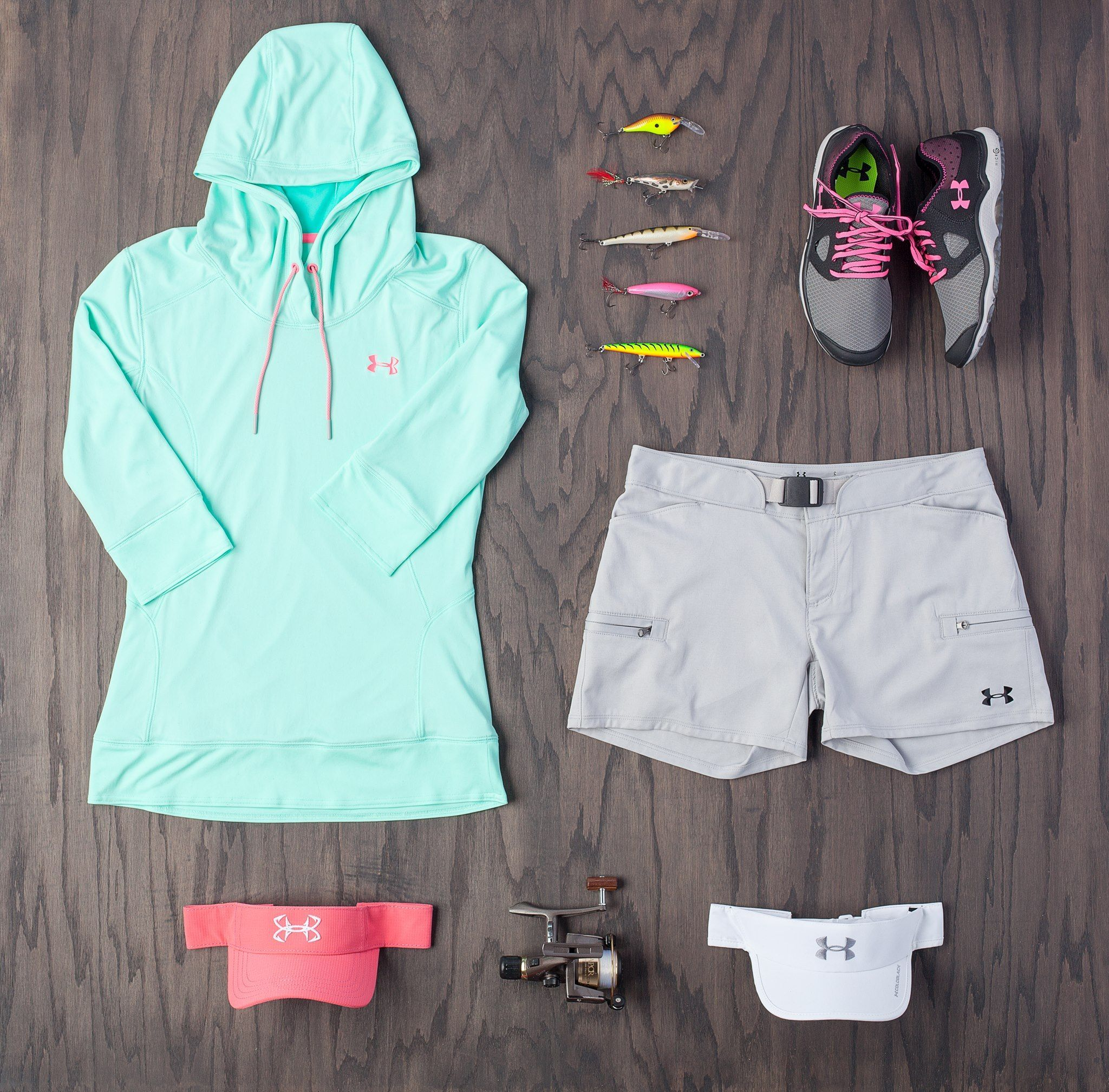 Photo of Check out the Under Armour Womens fishing line of apparel & gear #UAFish