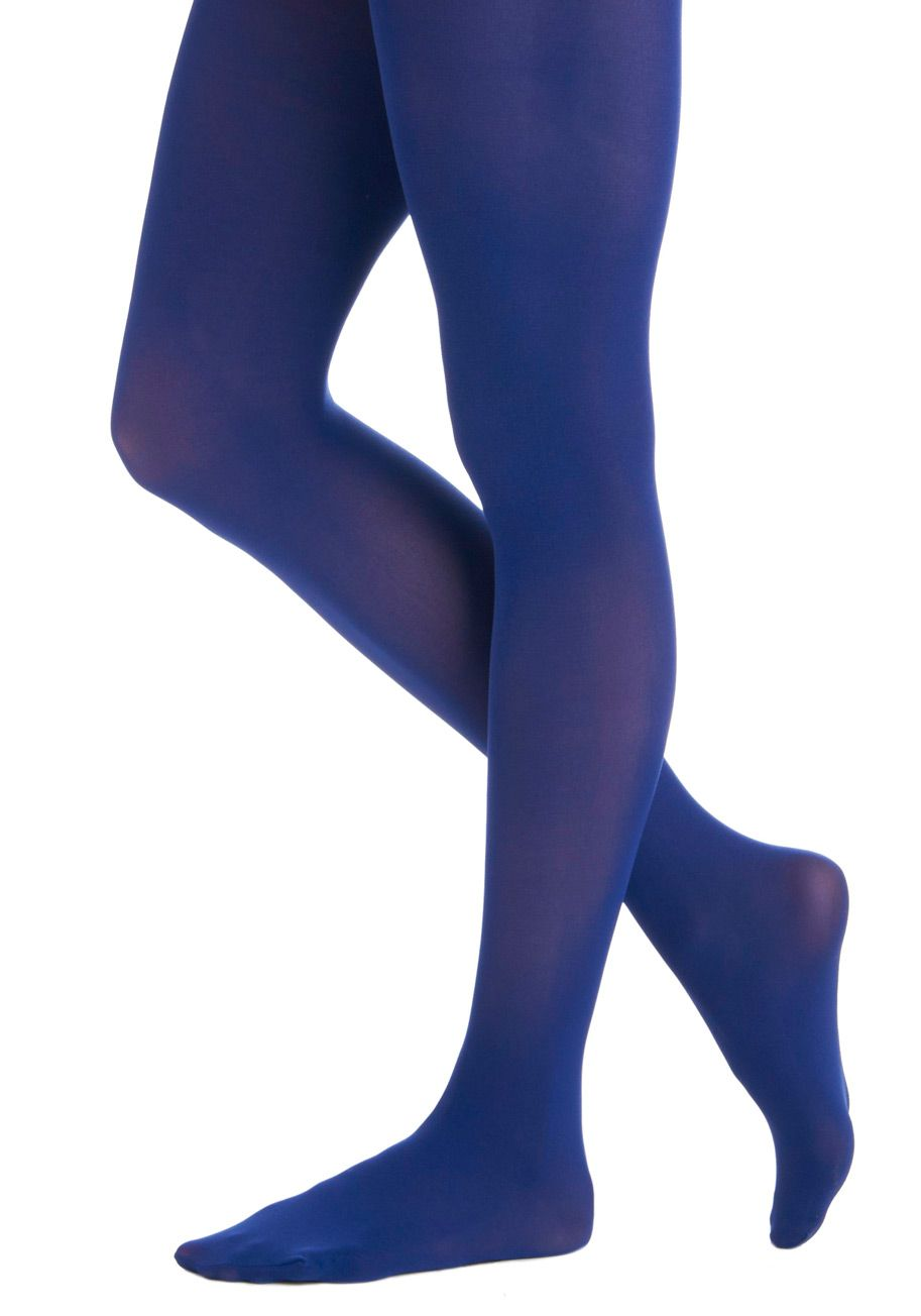 Tights for Every Occasion in Cobalt, #ModCloth