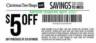 free Christmas Tree Shops coupons april 2017 | Free Printable ...