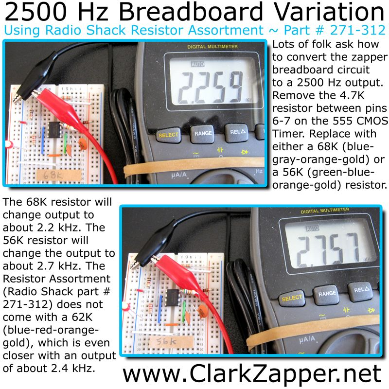 Another variation for building a Hulda Clark Zapper Kit