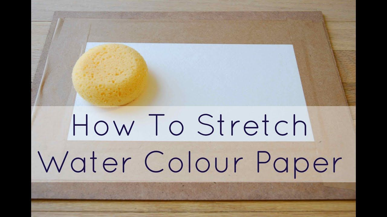 How To Prep your Watercolour Paper Best watercolor paper