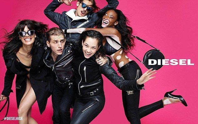 vitamina Descriptivo Latón  Model With Vitiligo Stars In Diesel S/S '15 Campaign | Fashion advertising,  Model, Vitiligo model