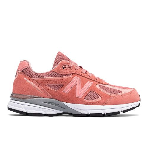 size 40 749dc 6b92d New Balance 990v4 Women's Made in USA Shoes - Pink (W990SR4 ...