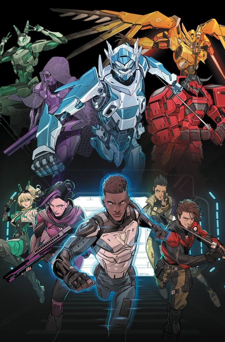 DC Unveils First genLOCK Cover Art Character art, Power