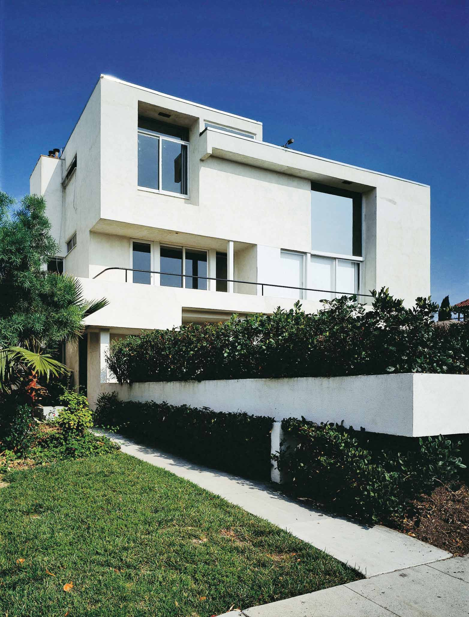 Mak Center For Art And Architecture Los Angeles Mackey Apartments R M Schindler 1939