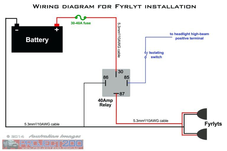 4 wire toggle switch wiring diagram  f150 wiring schematic