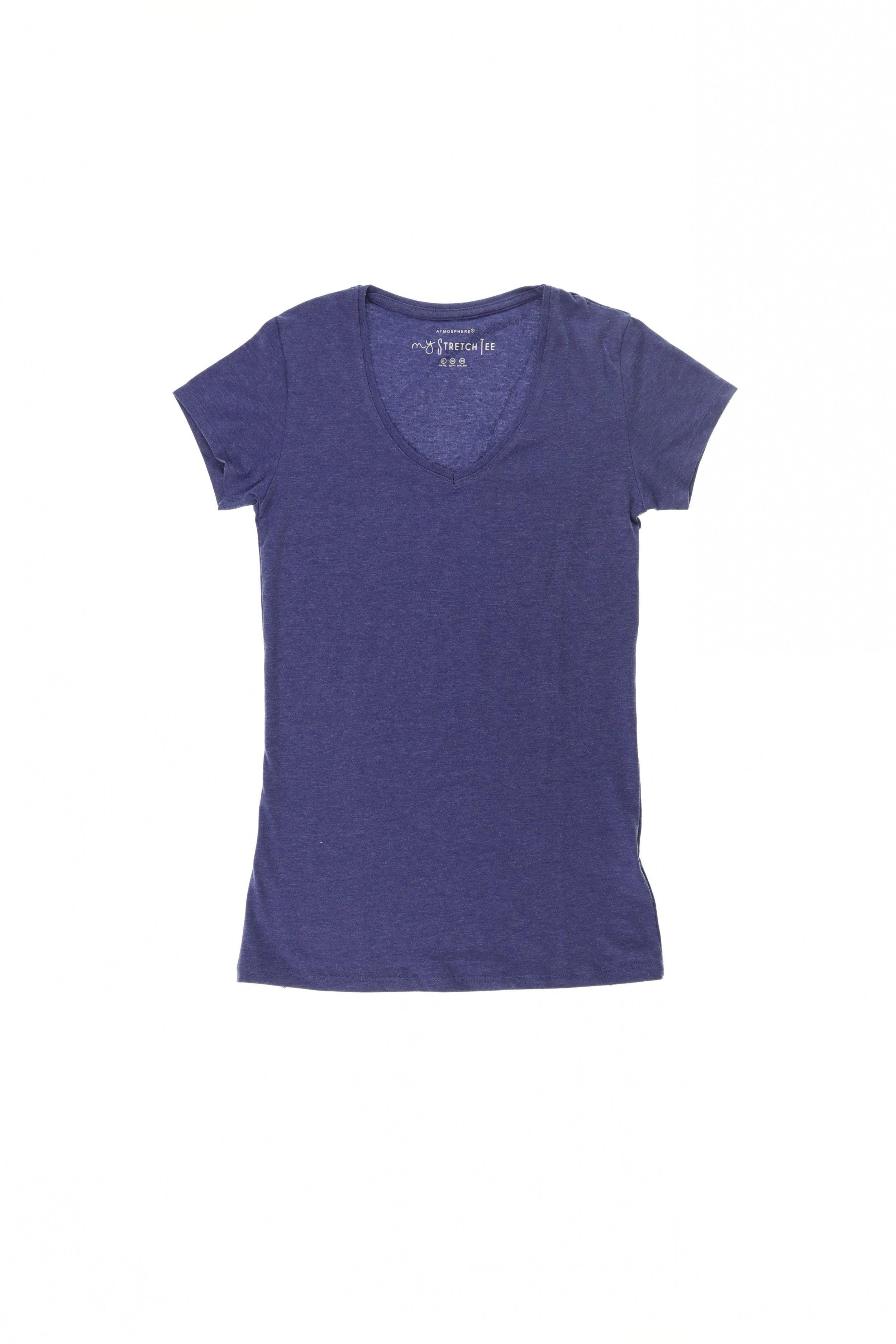 atmosphere damen t-shirt gr. de 32 (xs) baumwolle | mode