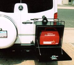 Camper Van Rear Door Storage Stowing Your Portable