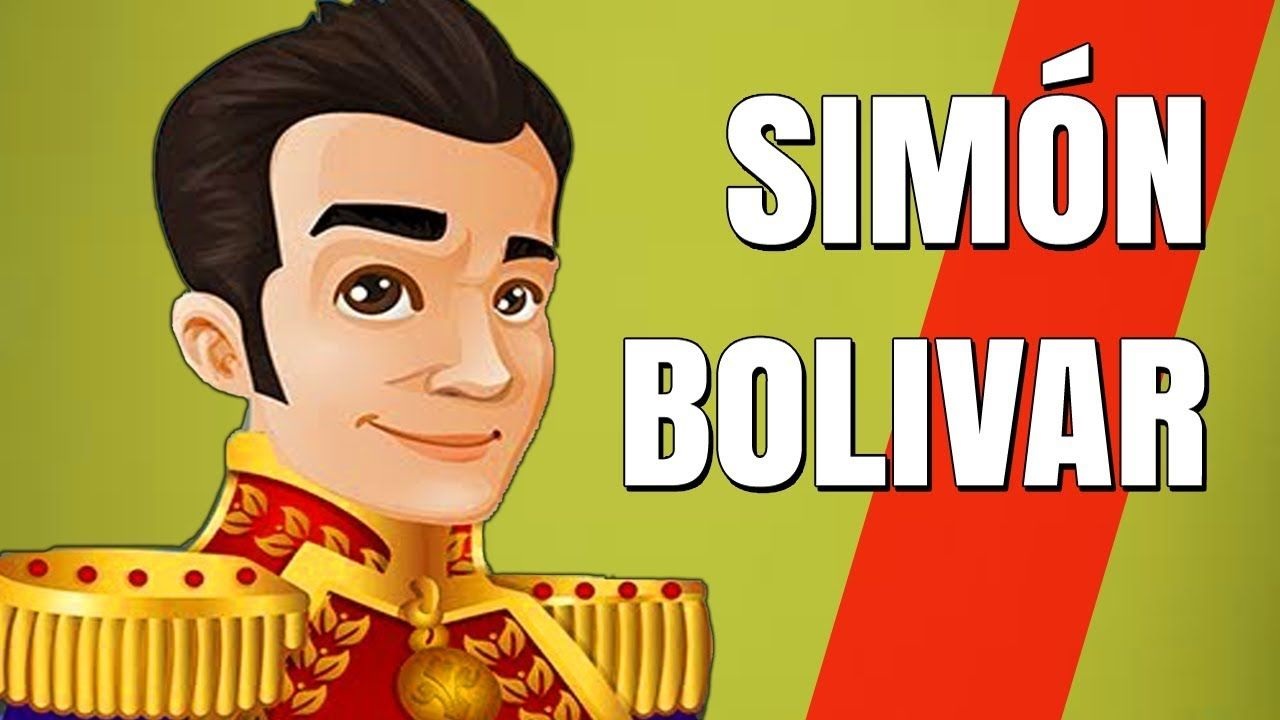 Simón Bolivar El Libertador Cuentos Para Niños Heroes Y Heroinas