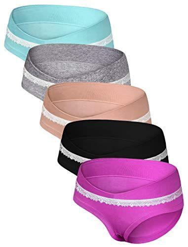 41f15bba201ad Odosalii Women Under The Bump Maternity Knickers Pregnant Postpartum Briefs  Panties Underwear (X-Large