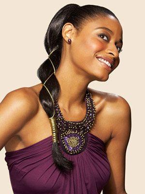 Stunning Prom Hairstyles You Can Actually DIY Ponytail Roman - Diy ponytail wrap