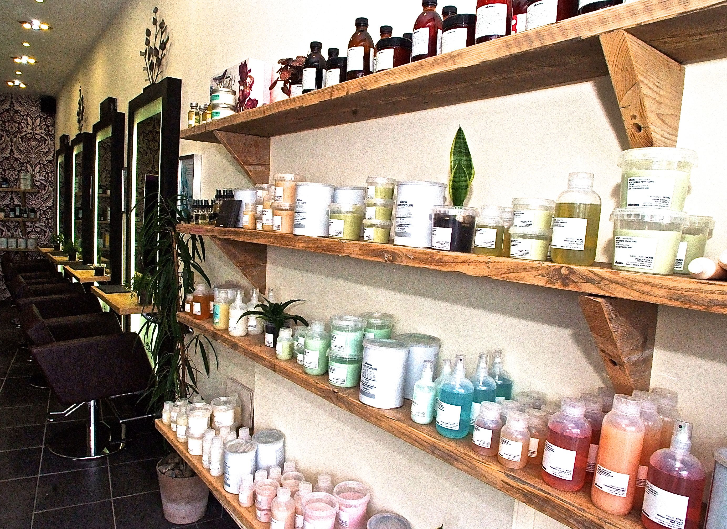 Do U Think We Could Get A Little Extra Wood Salon Products Display Display Shelves Salon Retail