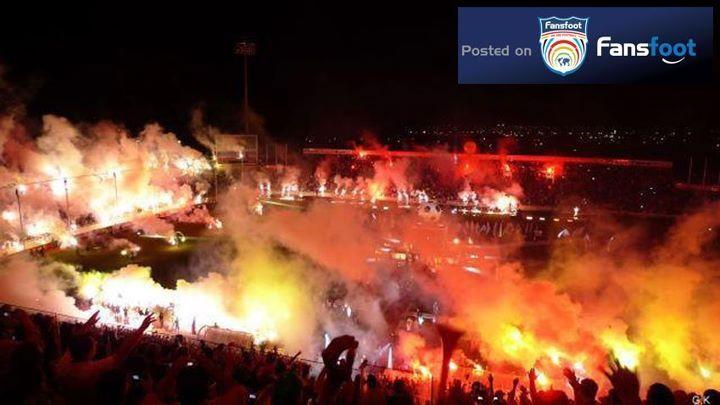 Amazing Pyro again from #CYPRUS #OMONOIA #GATE 9 | Soccer fans, Pyro, Nicosia