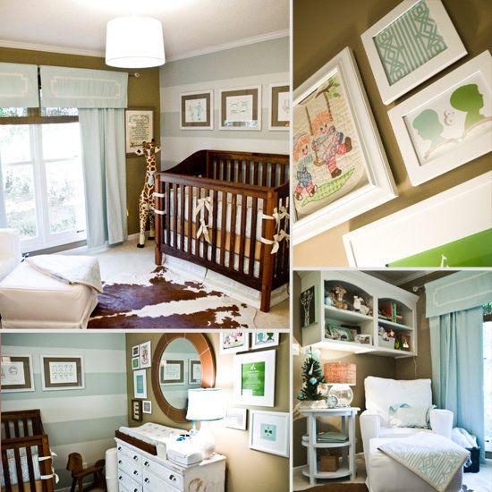 Baby Rhett S Sophisticated Custom Nursery Nursery