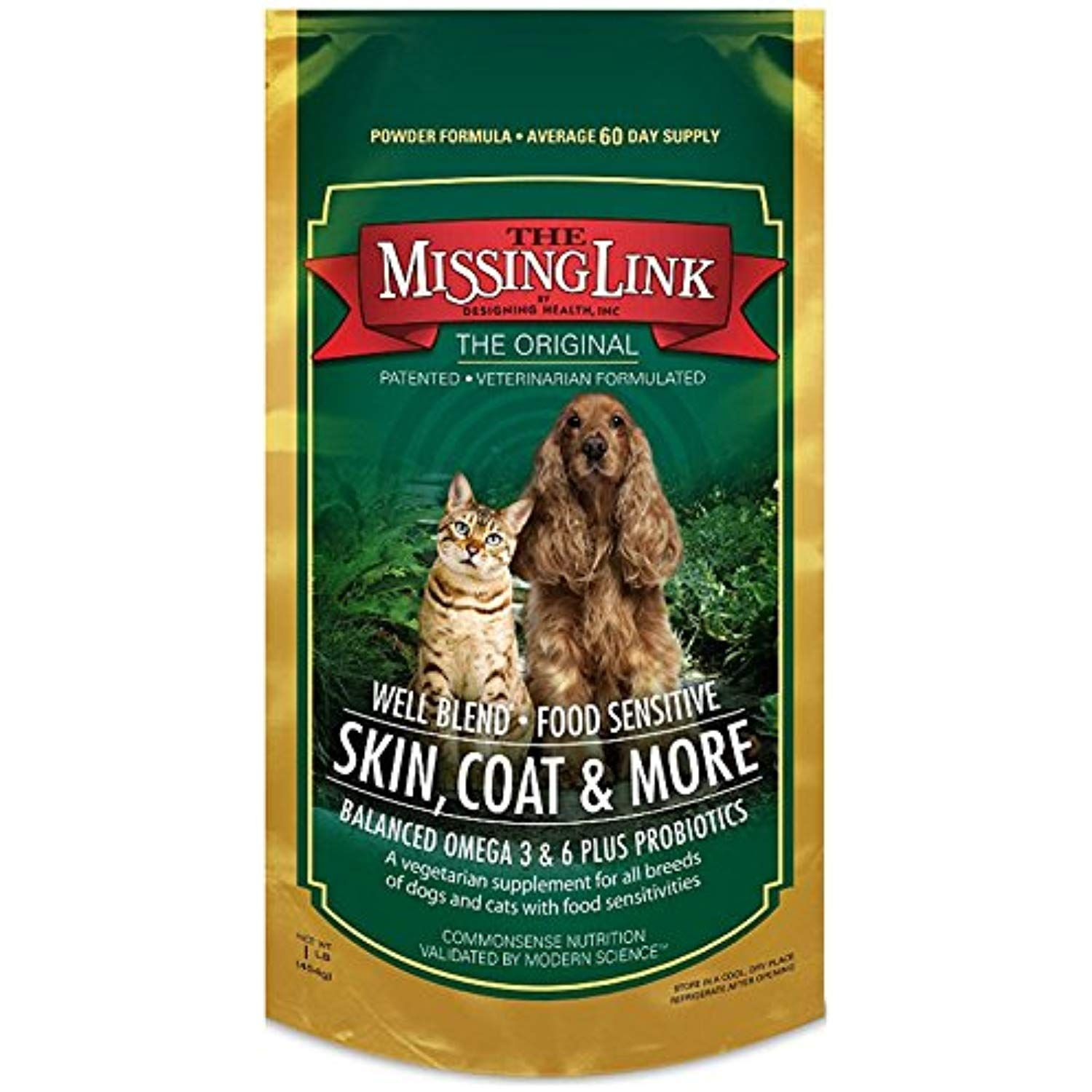 Missing Link 1 Pound Well Blend Nutritional Supplement For Dogs And Cats 2 Pound Read More Reviews Cat Supplement Vegetarian Skin Nutritional Supplements