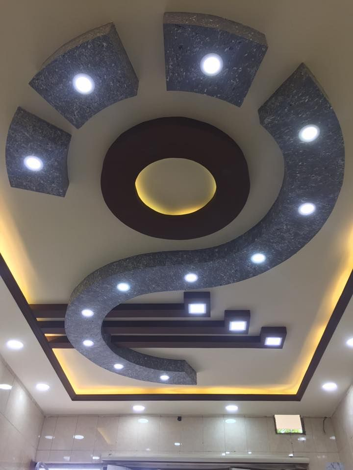 Pin by محمد on Gypsum Board Decoration | Pop false ceiling ...