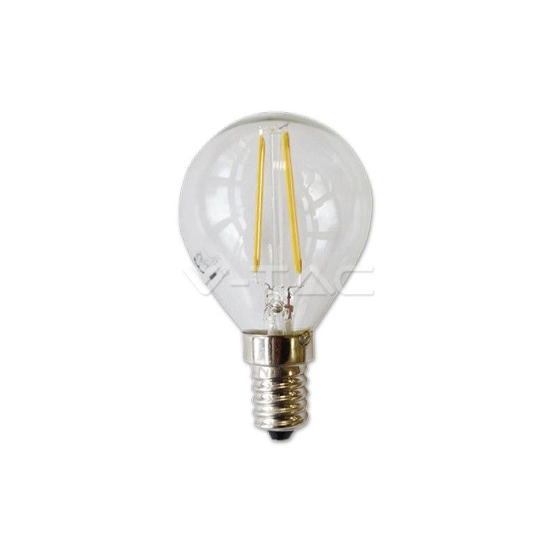 Bombilla Led Filament 2w E14 P45 2700k Bombillas Led Bombillas Led