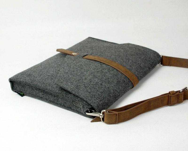 Felt Messenger Bag Shoulder