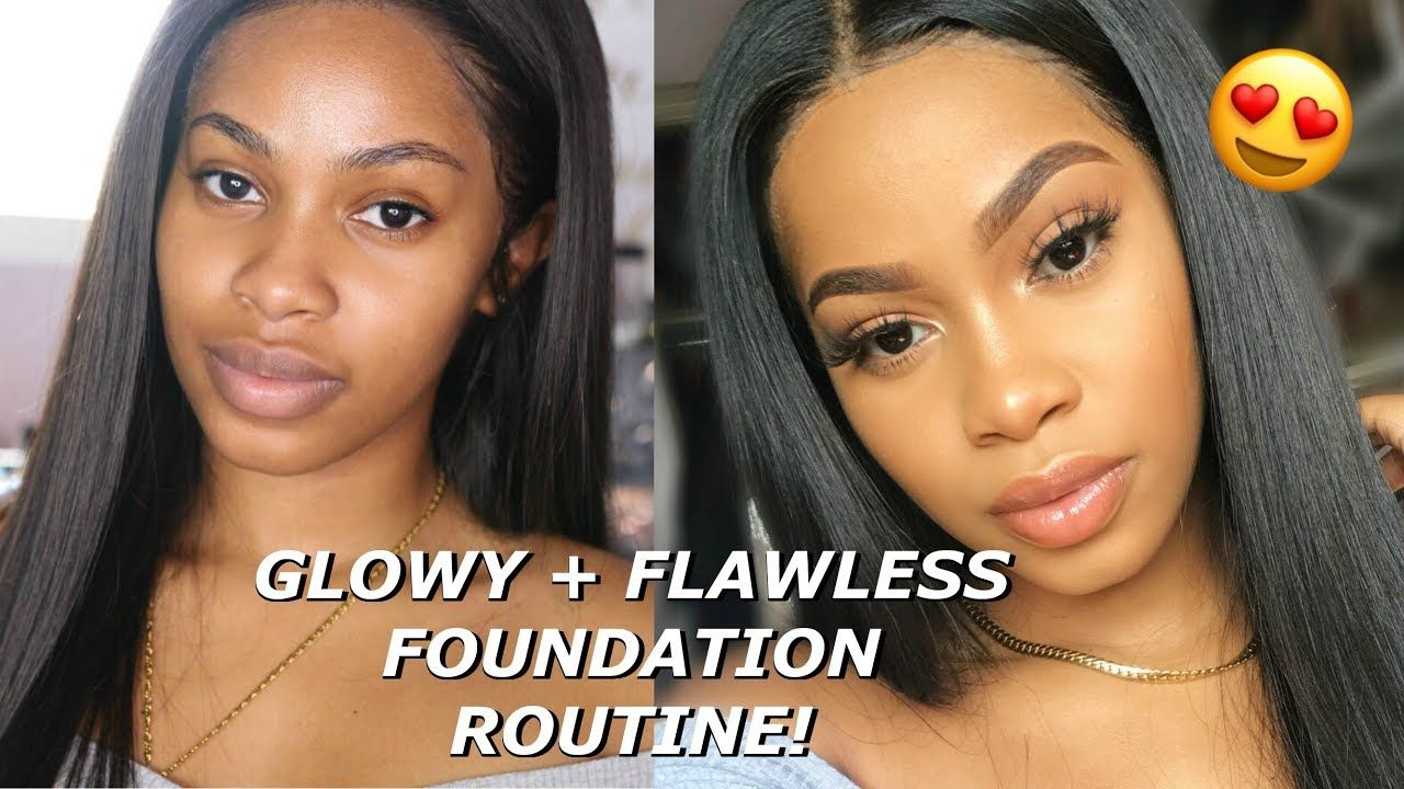 Everyday GLOWY + FLAWLESS FULL COVERAGE Foundation Routine