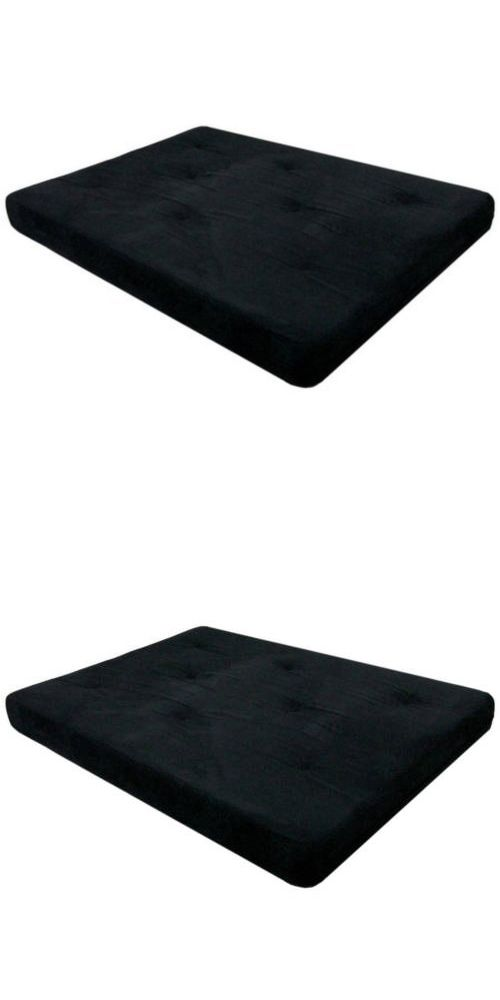 futons frames and covers 131579  6 full size futon mattress black tufted solid bed cotton futons frames and covers 131579  6 full size futon mattress black      rh   pinterest