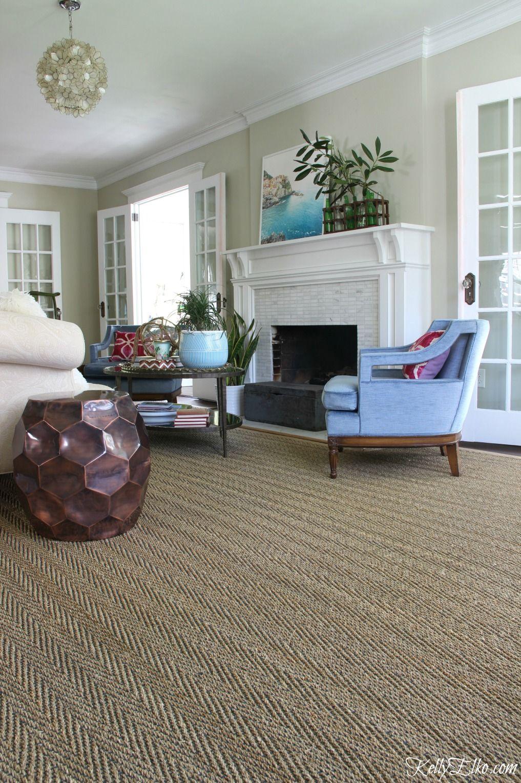 Living Room Solution - Custom Cut Rug | family room | Large ...