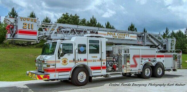 Polk County Fl Fire Trucks Emergency Vehicles Polk County