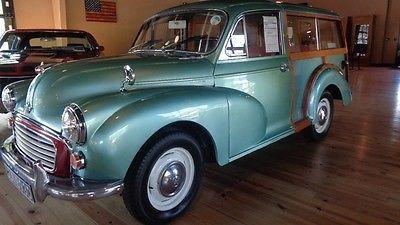John's 1966 Morris Minor Traveller - AutoShrine Registry