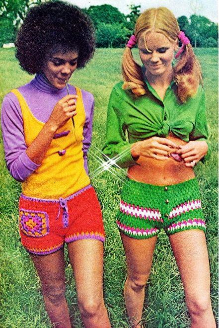 Crochet Shorts Pattern - PDF Instant Download - HIPPIE Pants - Gym ...