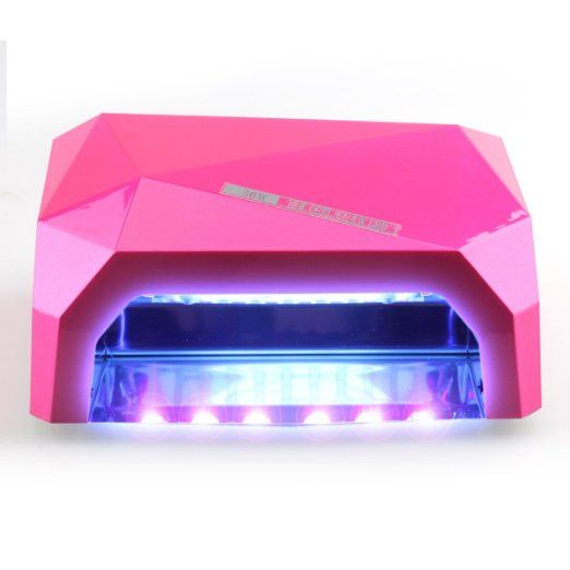 Perfect Summer Creative 36 Watt 12w Ccfl 24w Led Uv Led Light Lamp 100 220v Fast Quick Drying Curing Nail Dryer For Gel Nails Nail Dryer Uv Led Cure Nails