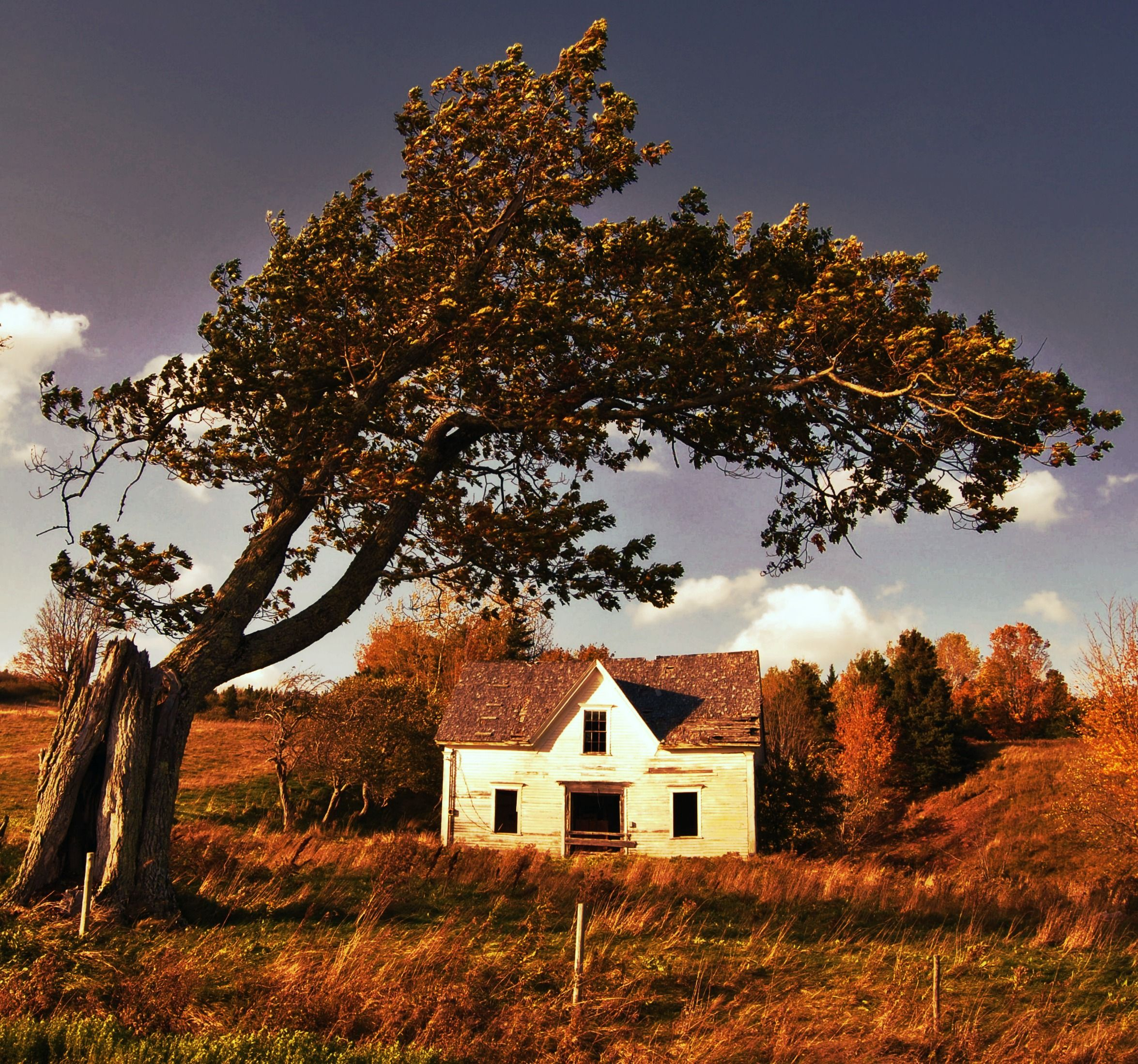 Old House In Albert County, New Brunswick