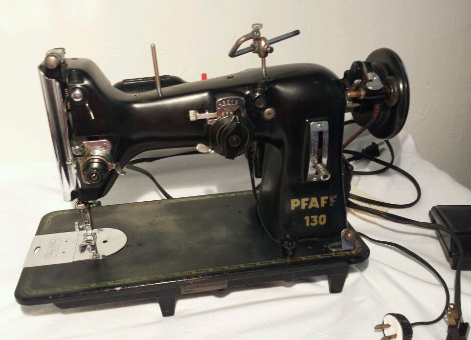 Vintage PFAFF 40 Sewing Machine Parts And Repair Belt Does Not Magnificent Pfaff 130 6 Sewing Machine Value