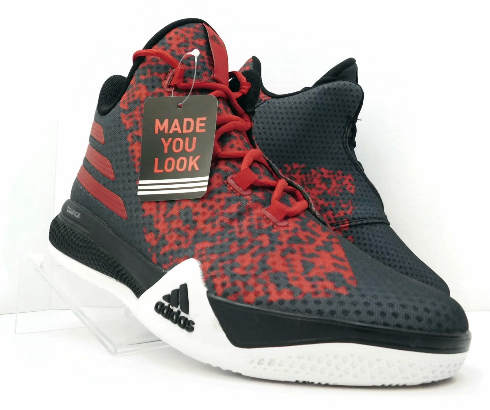 ADIDAS LIGHT EM UP 2 II BLACK RED D70129 US$149.00