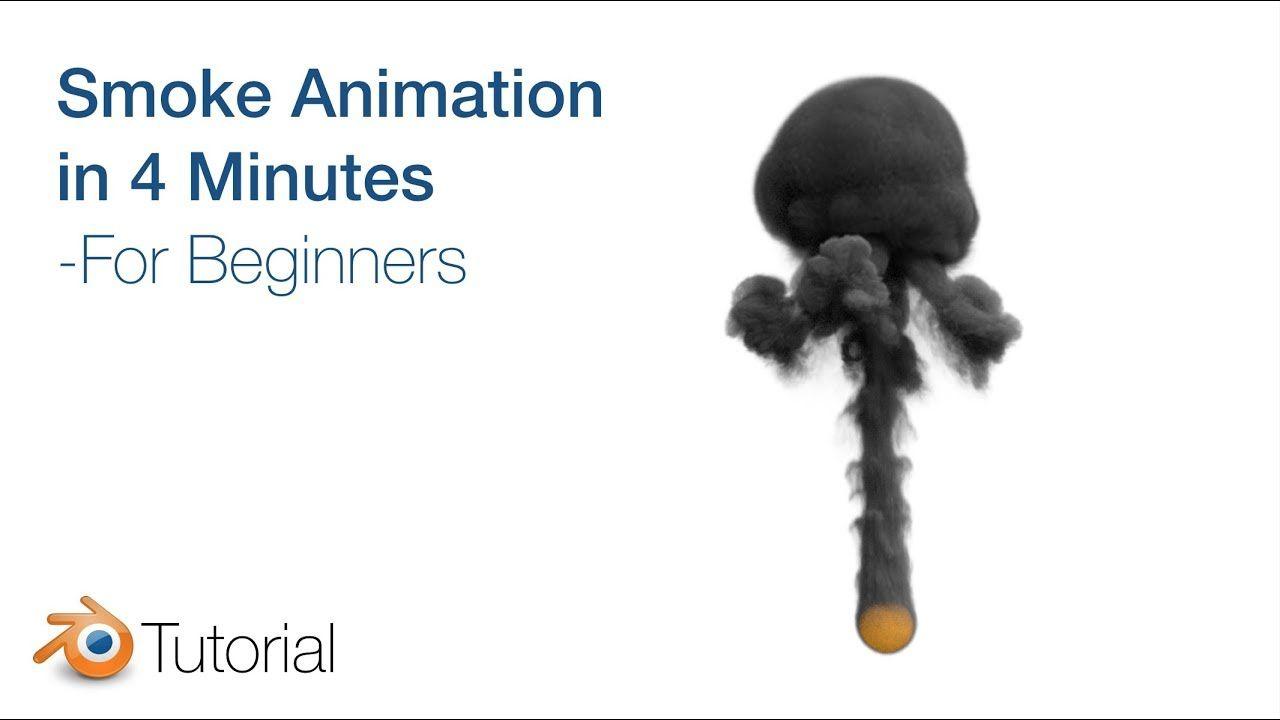 Blender tutorial smoke animation for beginners cycles render