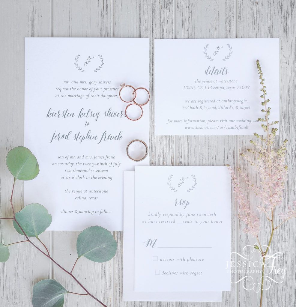 Pin by Jessica Frey Photography on Wedding Invitation