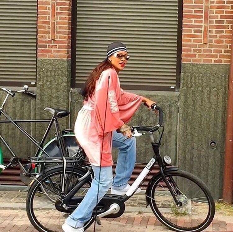Rihanna in de streetz