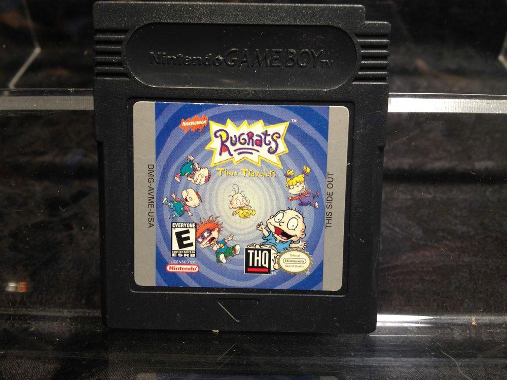 Rugrats Time Travelers For Nintendo Game Boy Color Rugrats