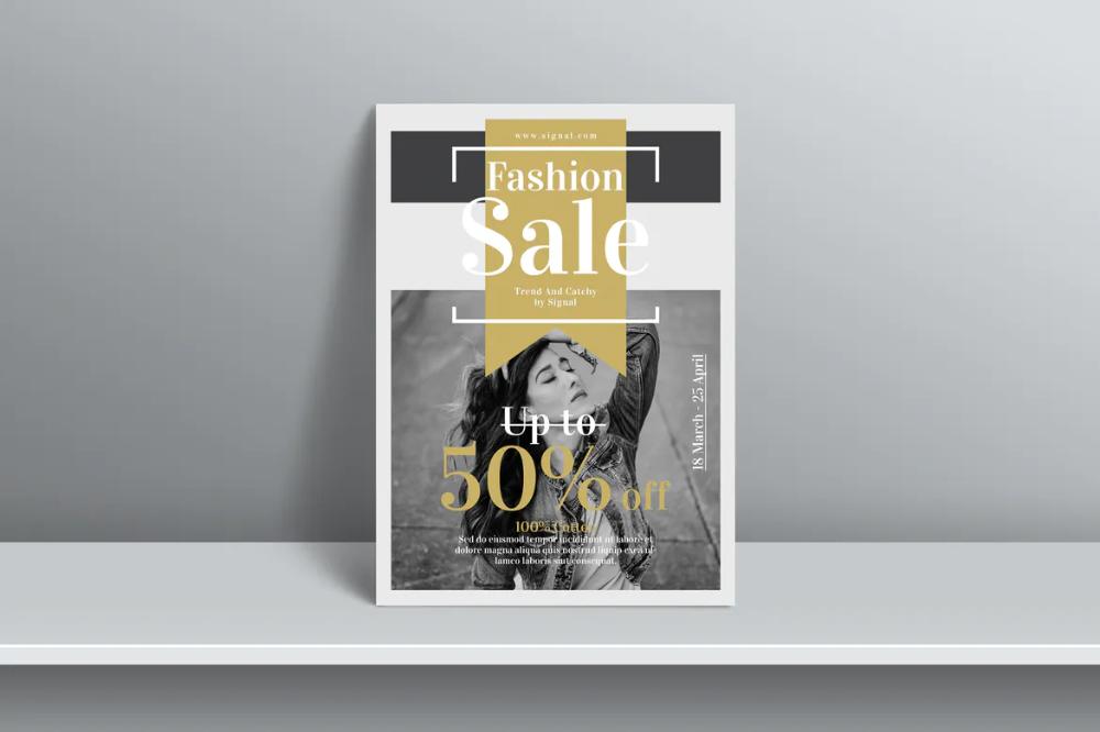 Sale Flyer Template by designsoul14 on Envato Elements