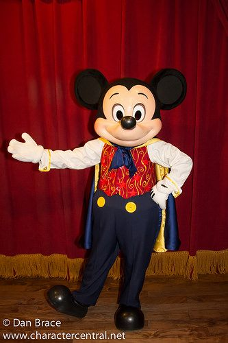 Magician Mickey Mouse Magic Kingdom