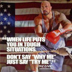 """24 """"Dwayne Johnson"""" Motivational Picture Quotes"""