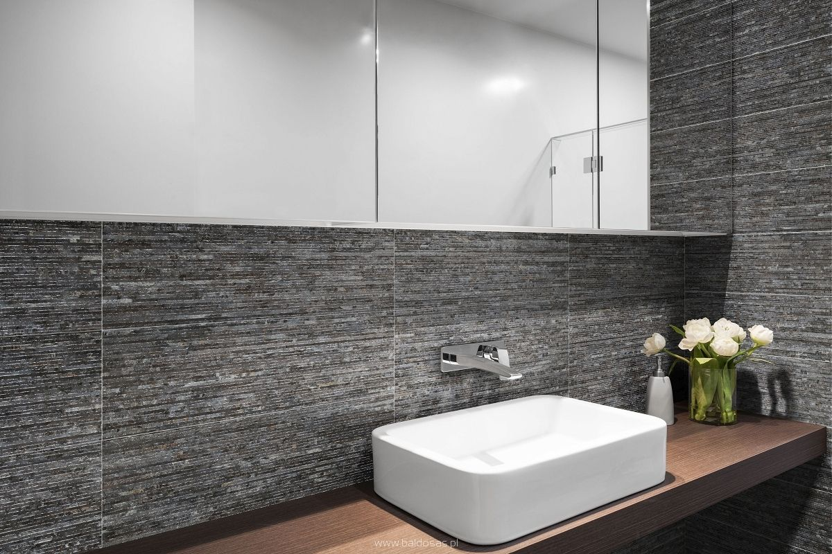 Nimes Grey 20x60cm Decor Wall Tile By Emigres Spain The Nimes Grey Has A Textured Surface