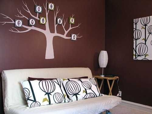 Tree with letters handmade wall decoration also creative reuse and recycle ideas for interior decorating give rh pinterest
