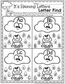 March Preschool Worksheets | Letras del alfabeto, Las letras y Letra de