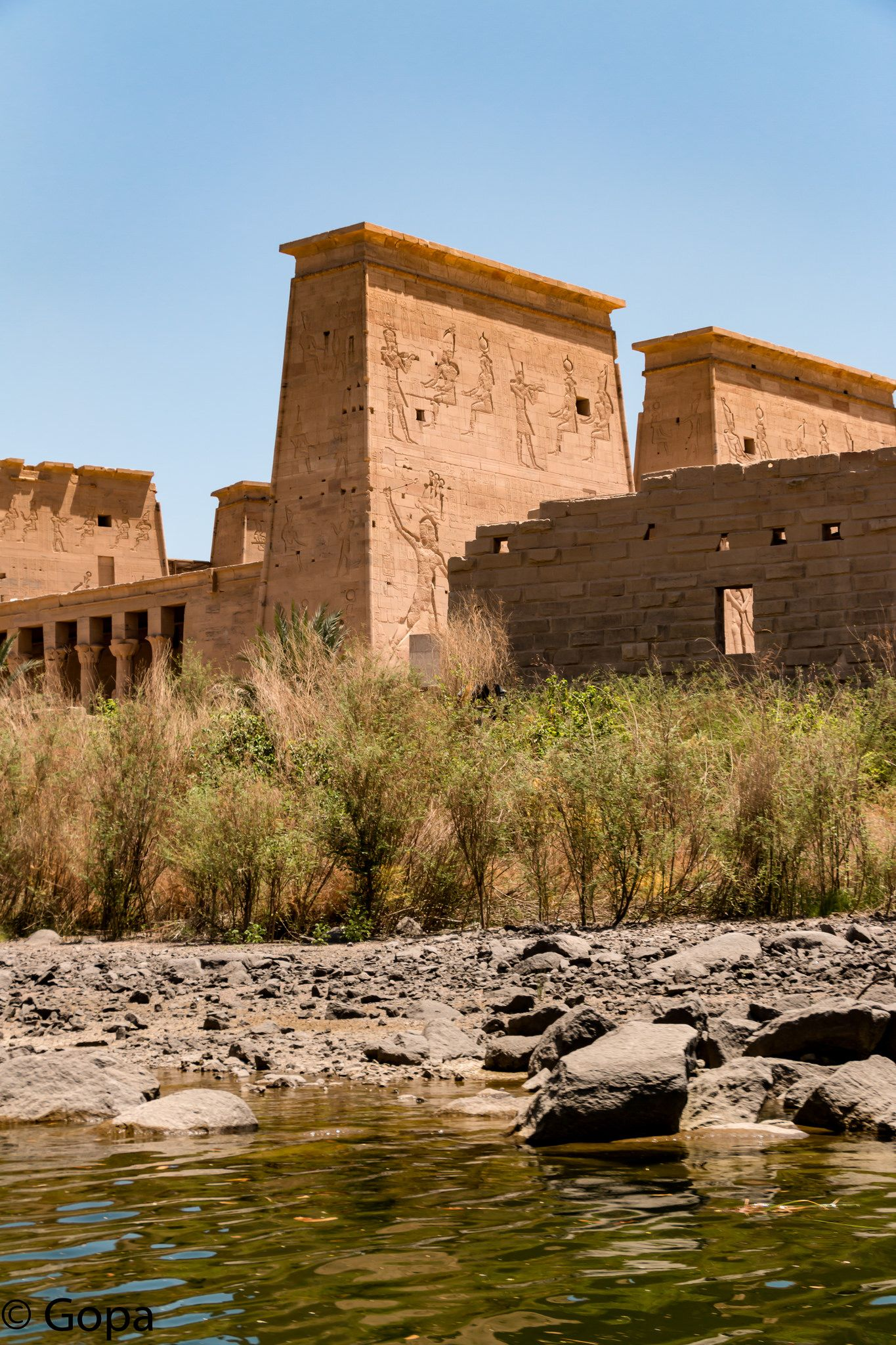 Philae Temple, Aswan | View from across the Nile