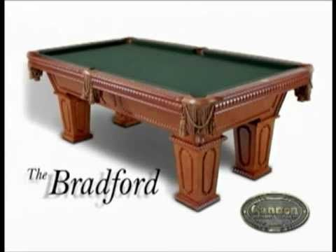 cannon billiards pool tables see how our billiard tables are constructed youtube