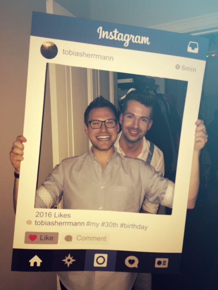 Instagram Fotorahmen Party Wedding Photo Booth Fotoautomat Hochzeit ...