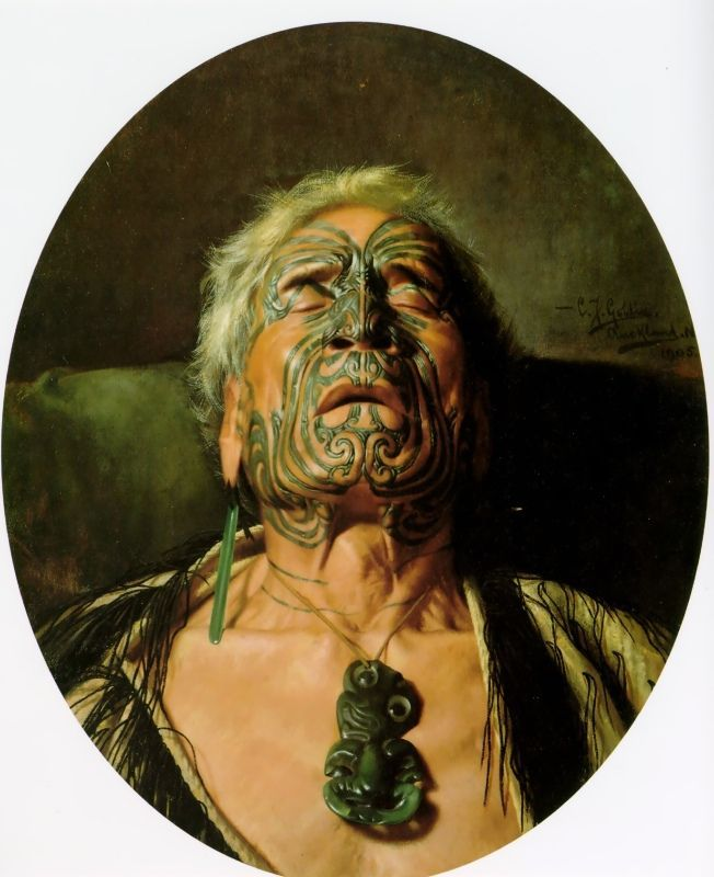 Famous Maori People: TITLE: A Study ARTIST: Charles Goldie COUNTRY OF ORIGIN