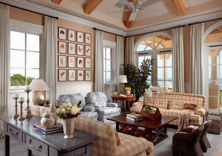 Salon contemporain de style rustique en 55 idées fascinantes ...