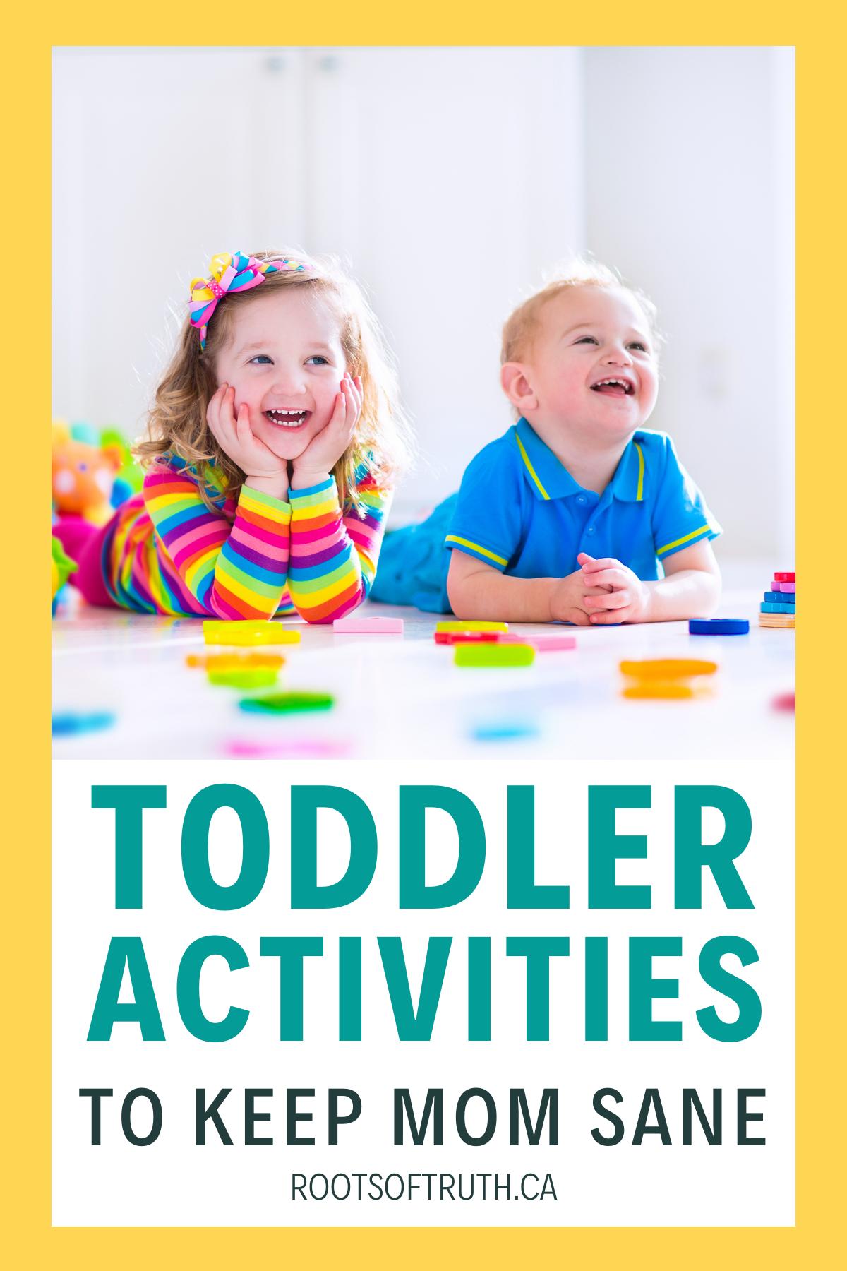 Ultimate List Of Toddler Activities Toddler activities