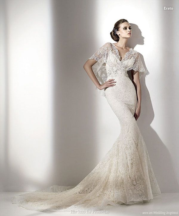 Elie By Elie Saab For Pronovias 2010 Bridal Collection Lace Wedding Dress Discount Wedding Dresses Online Wedding Dress Classy Wedding Dress